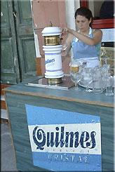 Quilmes vom Fass