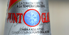 Cruzcampo aus Sevilla mit idealer Drinktemperatur