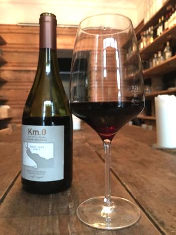 Km.0, Pinot Noir Roble, Gran Reserva, 2010, Bodega Familia Irurtia